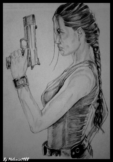 Angelina Jolie by Malunia1988